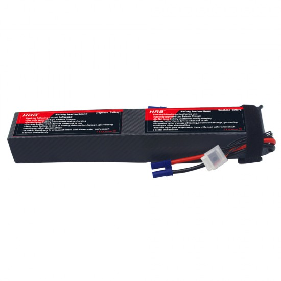 HRB Graphene 12S 6000 44.4V 100C Lipo Battery EC5