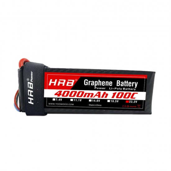 HRB Graphene 6S 4000 22.2V 100C Lipo Battery EC5